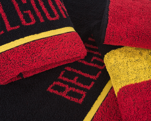 belgian sport towel and scarf